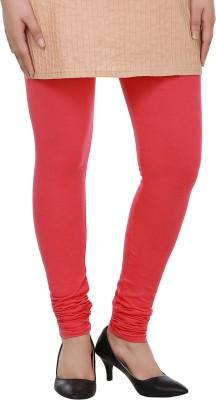 Dlina Women's Red Leggings