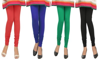 Agrima Fashion Women's Red, Blue, Green, Black Leggings