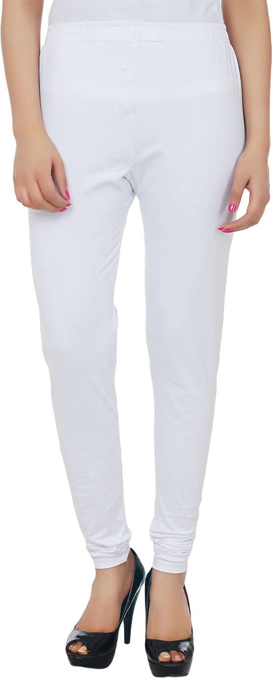 Knitgee Womens White Leggings