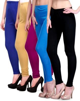 Rowena Women's Blue, Beige, Purple, Light Blue, Black Leggings