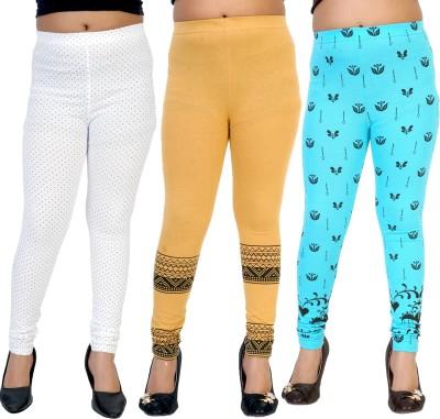 Gee & Bee Baby Girl's Multicolor Leggings