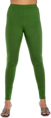 Blue-Tuff Women's Light Green Leggings