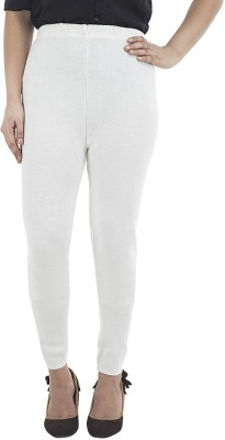 Marveto Women's White Leggings