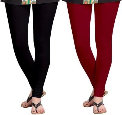 ZACHARIAS Women's Black, Maroon Leggings