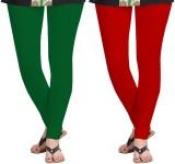 Zacharias Women's Green, Red Leggings (P...