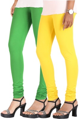 Greenwich Women,s Green, Yellow Leggings
