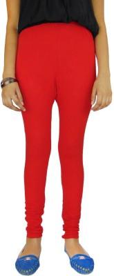 B VOS Women's Red Leggings