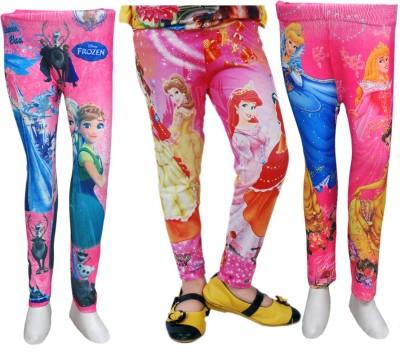 Pari & Prince Girl's Multicolor Leggings
