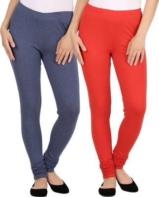 New tastemaker Women's Blue, Red Leggings