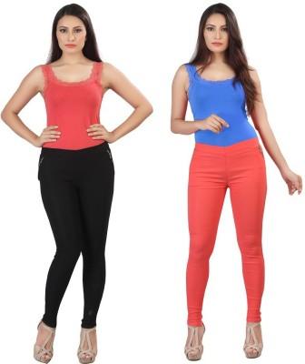 Bfly Women's Multicolor Jeggings
