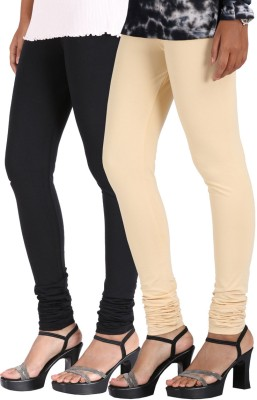 Greenwich Women,s Black, Beige Leggings