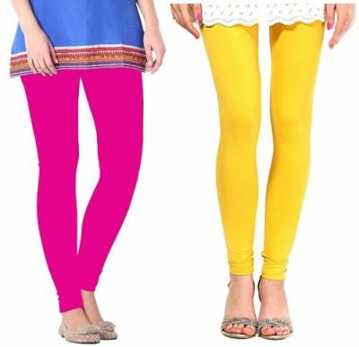 Paranoid Women's Pink, Yellow Leggings