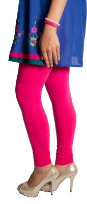 Red Saffron Women's Pink Leggings