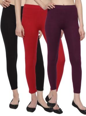 Aloft Women's Black, Purple, Red Leggings
