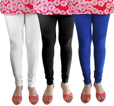 Green Zone Women's Black, White, Dark Blue Leggings