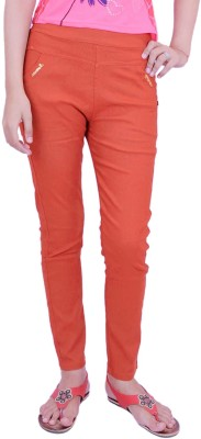 Krazzy Collection Women's Red Jeggings
