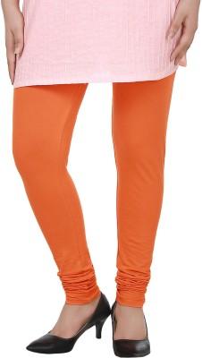 Dlina Women's Orange Leggings