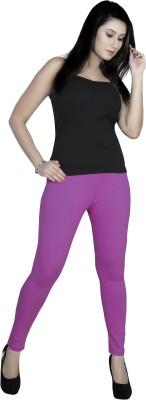 gargi Women's Purple Leggings