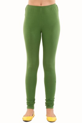 Mustard Women's Green Leggings
