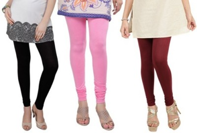 Prekrasna Women,s Black, Pink, Maroon Leggings