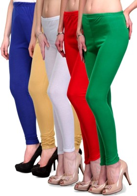 Rowena Women's Blue, Beige, White, Red, Green Leggings