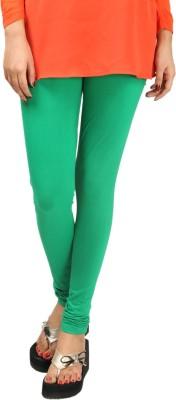 1 Luk Women's Green Leggings