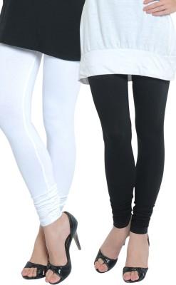 Tulsattva Women's Black, White Leggings