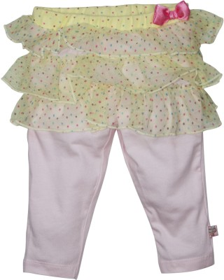 FS Mini Klub Baby Girl's Yellow Leggings