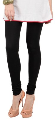 Shikha Women's Black Leggings