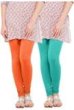 Fashion Guru Trading Women's Orange Legg...