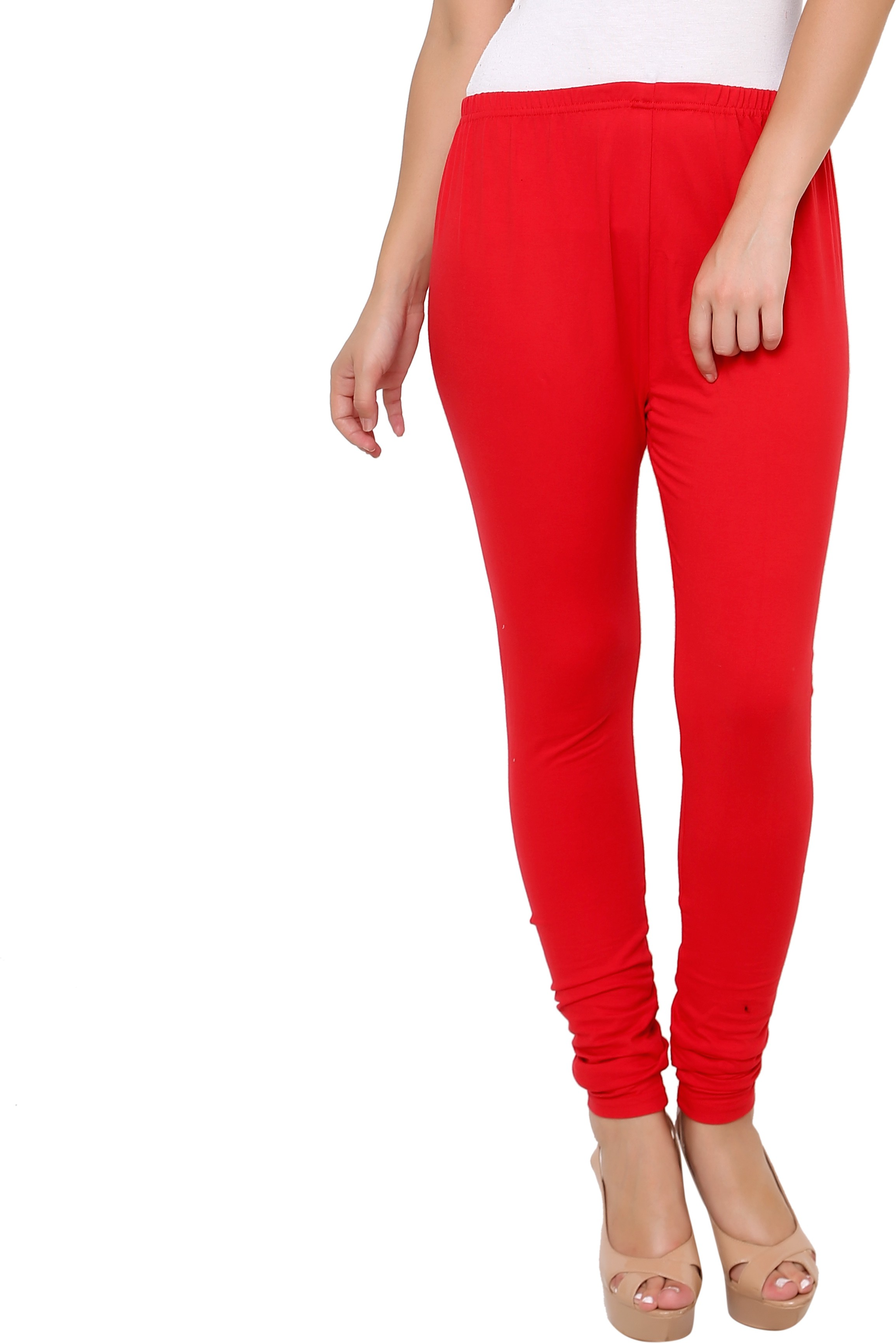 Leebonee Womens Red Leggings