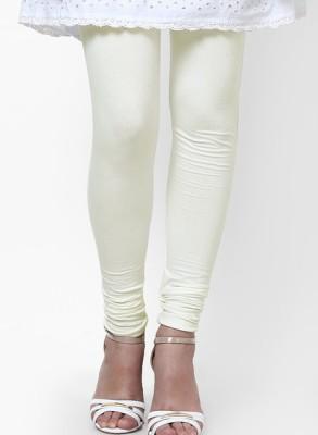 shree Women's White Leggings