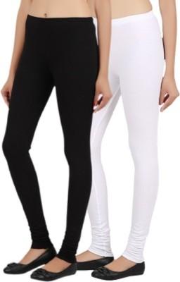 Prmesabh Women's Black, White Leggings