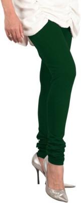 V Brown Women's Dark Green Leggings