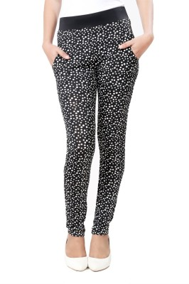 Eavan Women's Black Jeggings at flipkart
