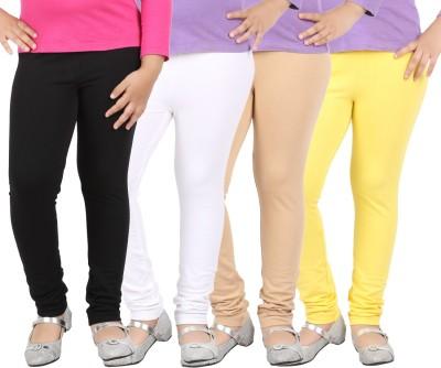 Avarnas Girl's Multicolor Leggings