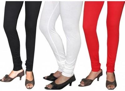 Aniya Women,s White, Black, Red Leggings