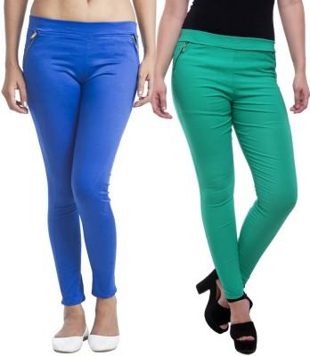 StyloFashionGarments Women's Multicolor Jeggings