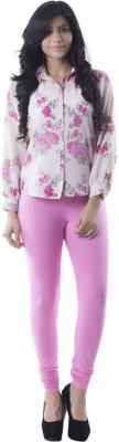 Prashil Women's Pink Leggings