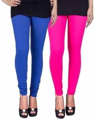 Ayesha Fashion Women's Blue, Pink Leggings