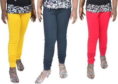 1 For Me Girl,s Yellow, Black, Red Leggings