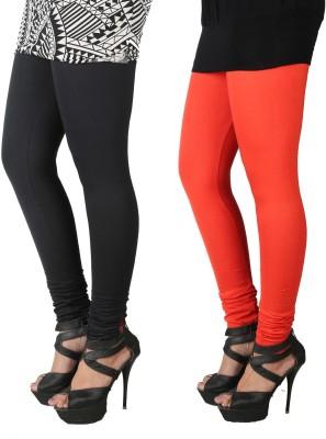Roy Women's Red, Black Leggings