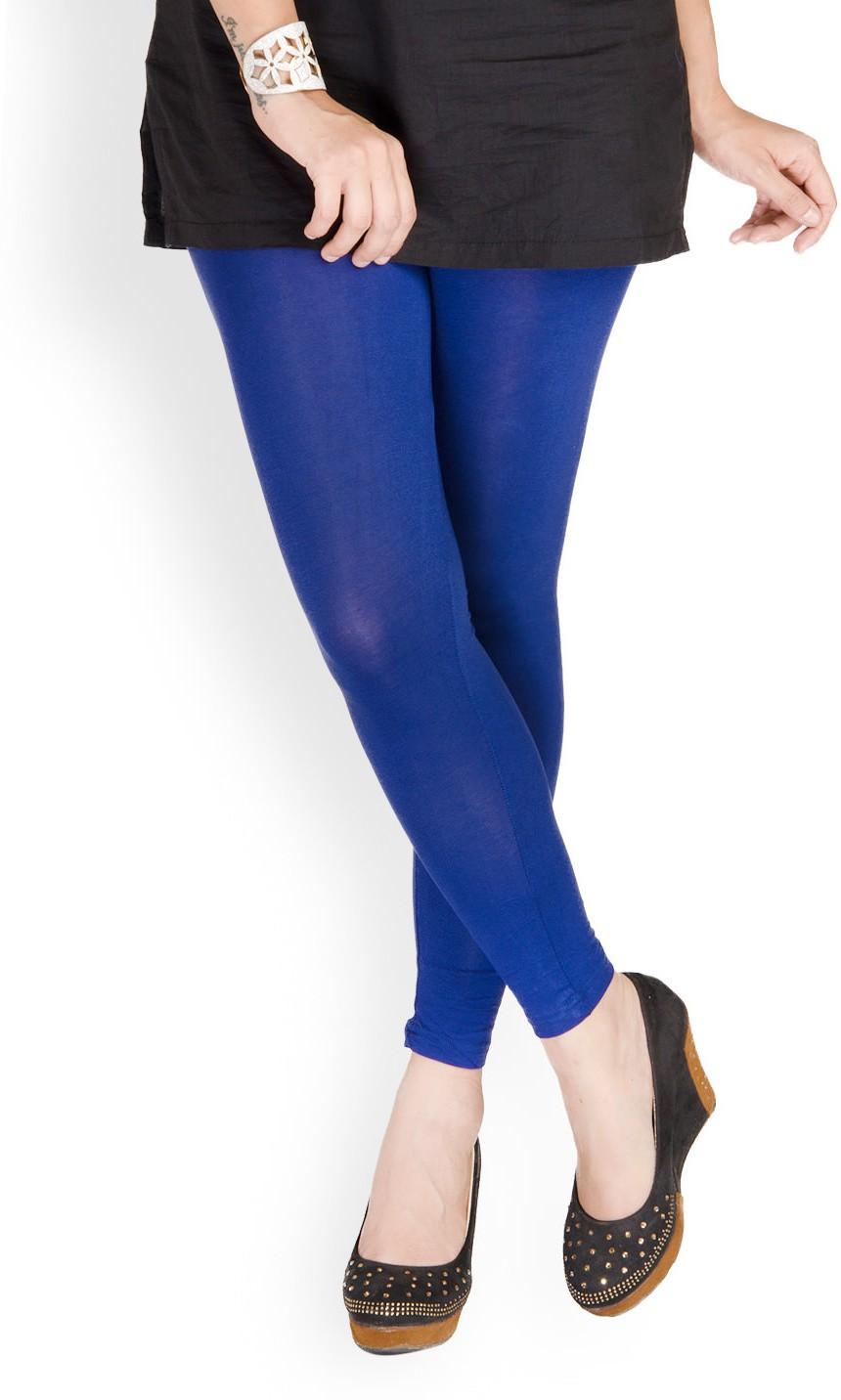 Medoo Womens Blue Leggings