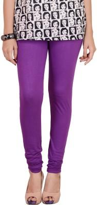 Traditional 2 Trendy Women's Purple Leggings