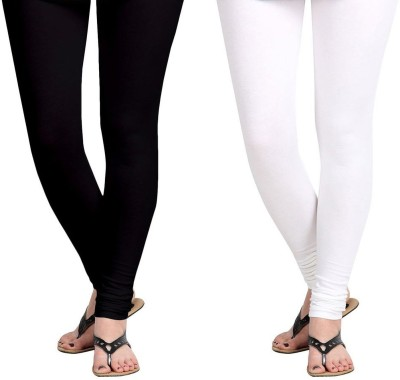 Vastra Buzz Women's White, Black Leggings