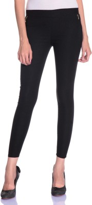 Styleava Women's Black Jeggings