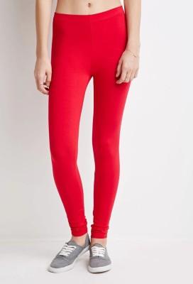 Nuva Women's Red Leggings