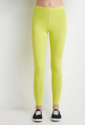 Nuva Women's Green Leggings