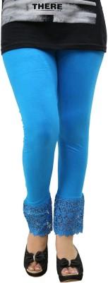 Fashion Kala Women's Blue Leggings