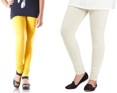 yuvraj creation Women's Yellow Leggings